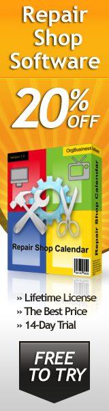 Repair Shop Software