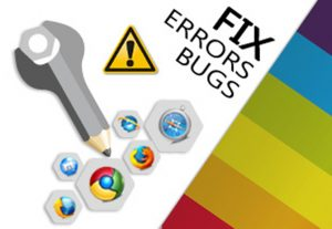 Fix any issue related html, css, php, wordpress