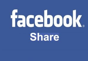 I will Give 60 Facebook Share only