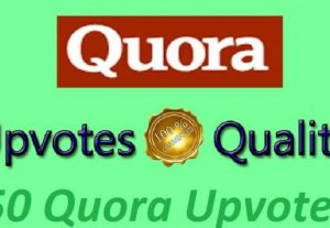 I will promote high quality profile worldwide 50 quora upvotes