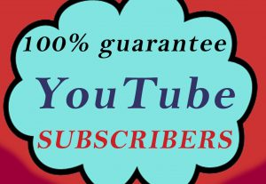 25 comments or 100+ real, active, non drop lifetime guaranteed YouTube subscribers