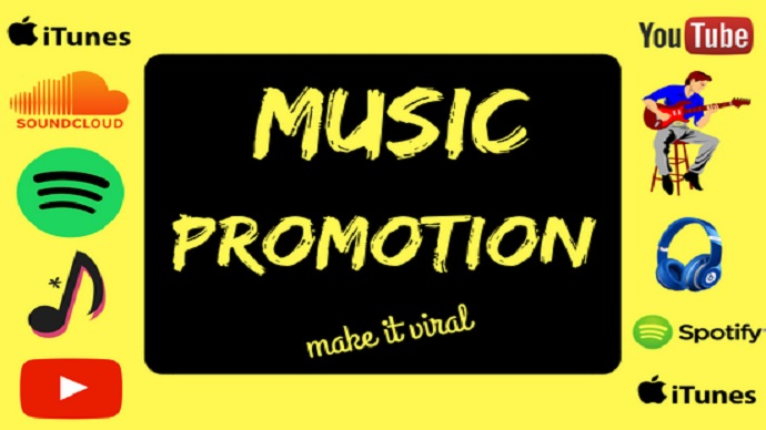 I will do music promotion for spotify, soundcloud, and