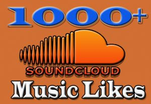 I will Add 1000+ likes to your vide on Soundcloud