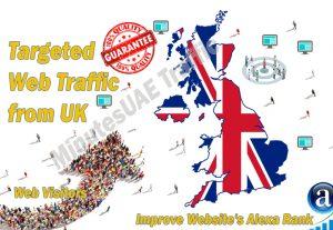 British web visitors real targeted Organic web traffic from UK, United Kingdom