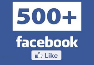 I Will Give You 500+ Real Facebook Page Likes