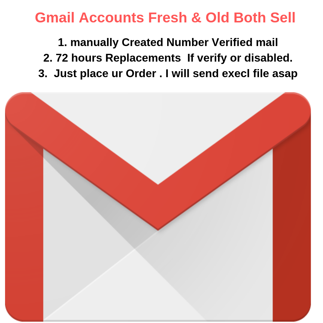 Get  50 Verified Google Accounts (Gmail)   ASAP