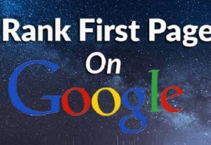 I will do Google First Page Ranking SEO for your Website Guaranteed