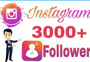 3k Instagram followers