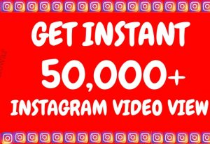Get Instant (in 12 Hours) 50,000+ Instagram Video views+Impressions OR 30K Posted Picture / Video Likes, Real & Active Users, Non Drop Guaranteed