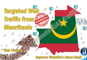Mauritanian web visitors real targeted high-quality web traffic from Mauritania