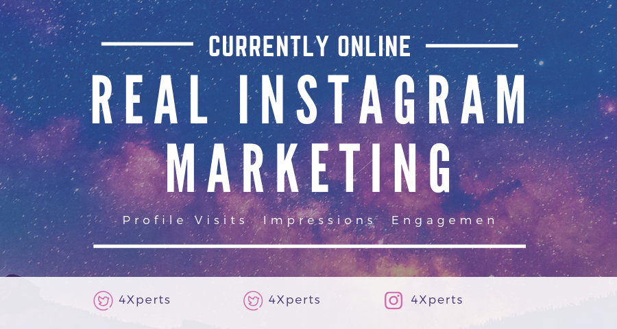 +40,000 Unique and Real Instagram Profile Visits + Impressions + Engagements