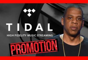 I will do target 200M tidal music promotion