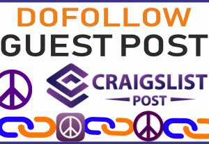 Publish Dofollow  Guest Post on USA Craigslist