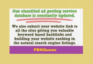 Manually Post in 30 High Ranked Classifieds Ad posting Websites