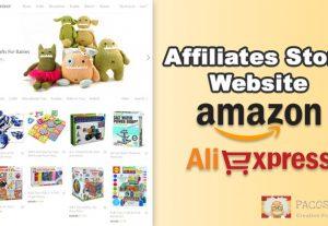 Complete auto Amazon affiliate store