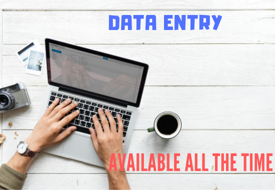 Virtual Assistant For Data Entry, Web Research, Copy Paste, 1hours