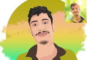 I will Do Professional Vector Portrait and illustration art