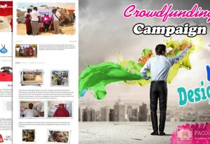 We will design you a stunning fundraiser/crowdfunding page