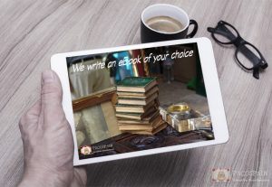 We will write an eBook of your choice
