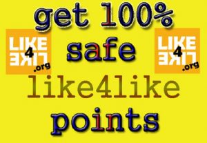Give you new or refill Like4Like account with over 10.000 Points