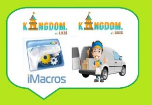 Give you Kingdomlikes iMacro scripts-bots for gathering points for free and on autopilot