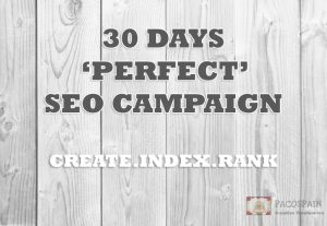 Skyrocket your website rankings with our 30 days SUPREME SEO PACKAGE