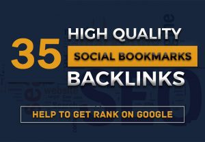 TOP 35 Social Bookmarking – Manual Work Full Report