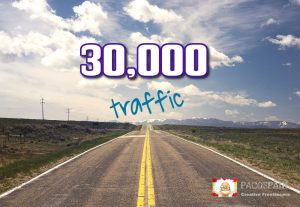 High Quality Worldwide traffic from 9 social media sources