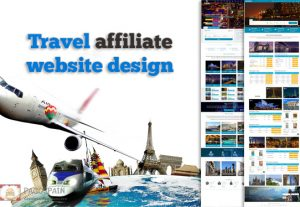 We create Travel affiliate website design