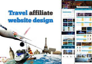 We create Travel affiliate website design