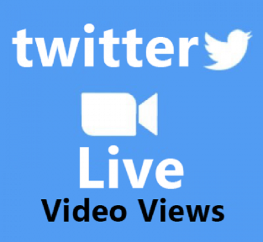 500 Twitter live stream views life time granted