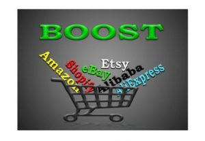 Promote any Amazon, eBay, Etsy, Alibaba, AliExpress or Shopify store on most popular social networks in the world