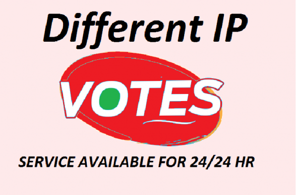 Give to 150 genuine IP votes by real people to any IP contest that you are participating