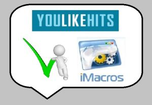 Give you a pack of YouLikeHits iMacros Script to gather point for Free and on Autopilot