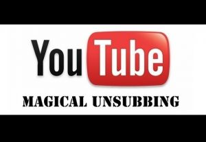 Give you Youtube Unsubscribe iMacro Script