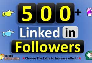 Get 500+ LinkedIn Followers from Business Company Page or HQ Profile, Real Active Users Guaranteed