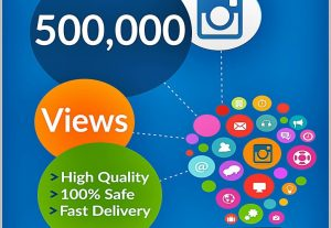 Get Instant 500,000+ Instagram Video views High-Quality Guaranteed.