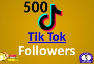 Promote 500+ TIK TOK Followers or 50k Video Views or 100+ Likes, High Quality, Real Active Users Guaranteed