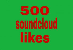 500 soundcloud  likes fast delivery