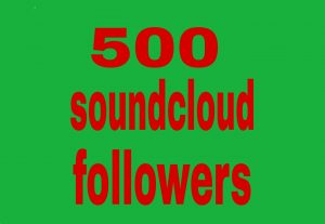 500 soundcloud  followers fast delivery