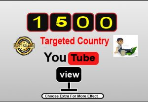 GET 1500+ Youtube targeted country windows dasktop watch view