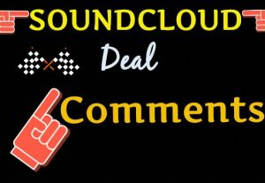 Get 500 Human manual SoundCloud Comments
