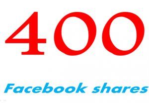 add 400 USA facebook Websites or Posts shares