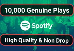 SUPER FAST-10.000 USA HQ Real Spotify Plays With Non Drop Guarantee