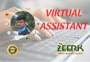 I Will Be Your Virtual Assistant For Data Entry,Web Research and Any Project