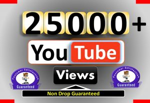 I will promote 25,000+ YouTube Video Views to REAL Viewers, Good Retention & Non Drop Guaranteed