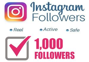 1000+ High-Quality Real Active Human Instagram Followers for $3