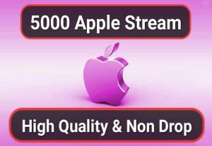2000 Streams for Apple or Itunes music Promotion Your Song
