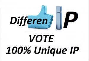 Offer 200 Different IP votes contest that you are participating
