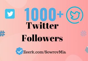 Get 1000+ Twitter Followers (Limited Time Only)